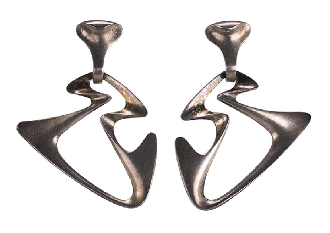 Georg Jensen Henning Koppel sterling silver earrings
