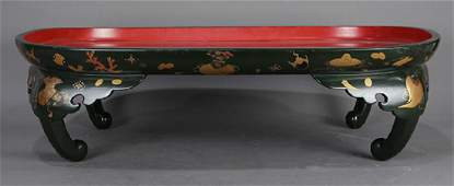 Japanese Lacquered Low Table Meiji