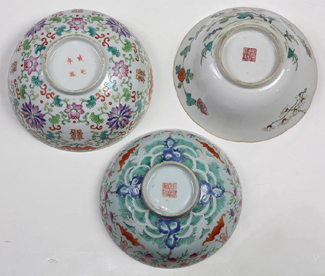 Chinese Porcelain Bowls - 6