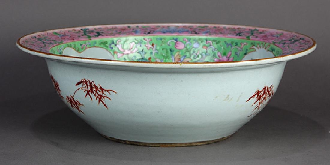 Chinese Porcelain Basin - 4
