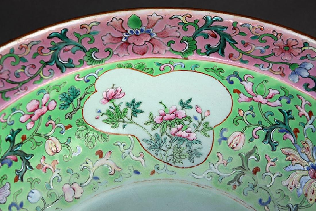 Chinese Porcelain Basin - 7