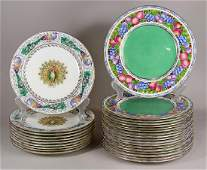 lot of 28 Wedgwood porcelain plate group comprising