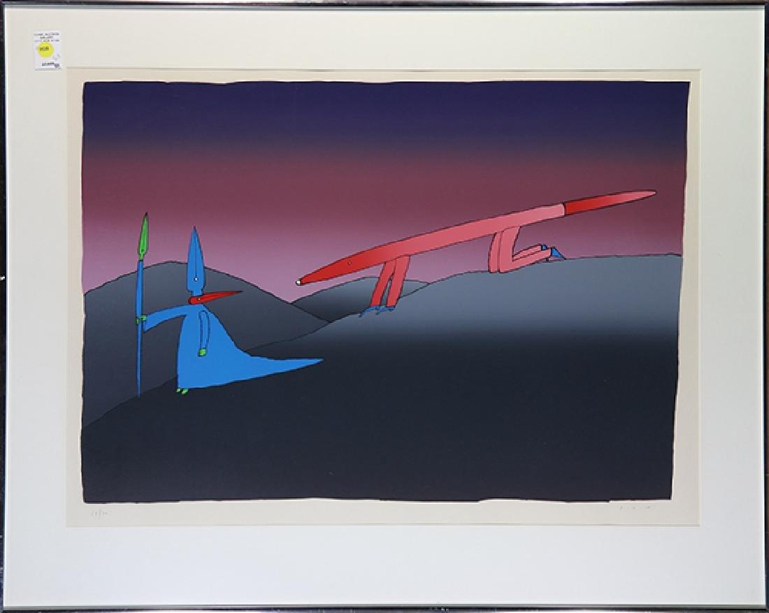 Print, Jean-Michel Folon