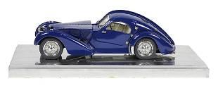 Gerald Wingrove 1:15 scale model of a 1930's Bugatti
