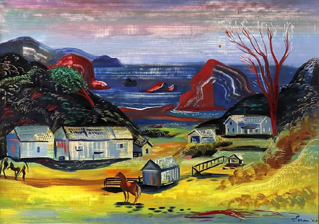 Painting, Erle Loran