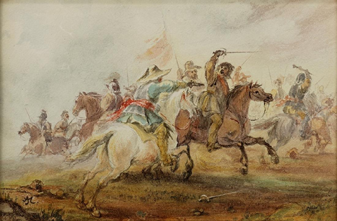 Watercolor, Alfred Jacob Miller