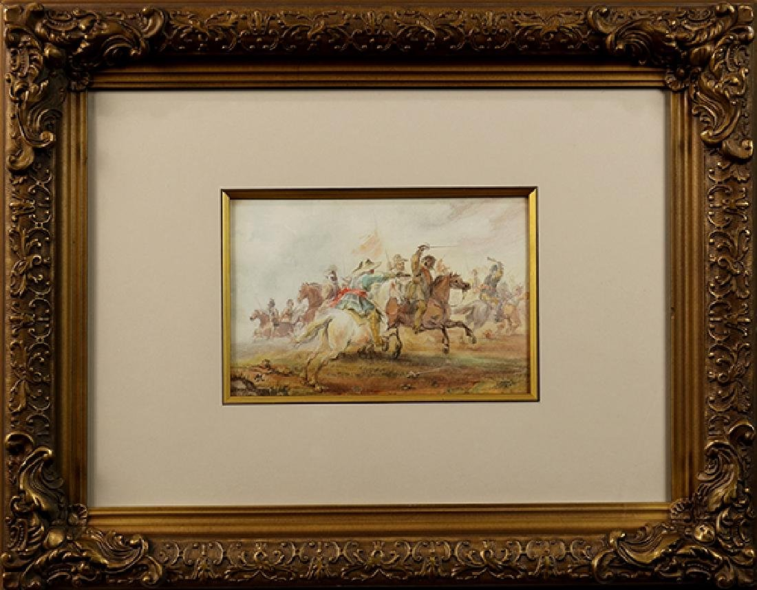 Watercolor, Alfred Jacob Miller - 2