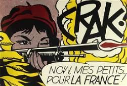 Print, Roy Lichtenstein, CRAK!
