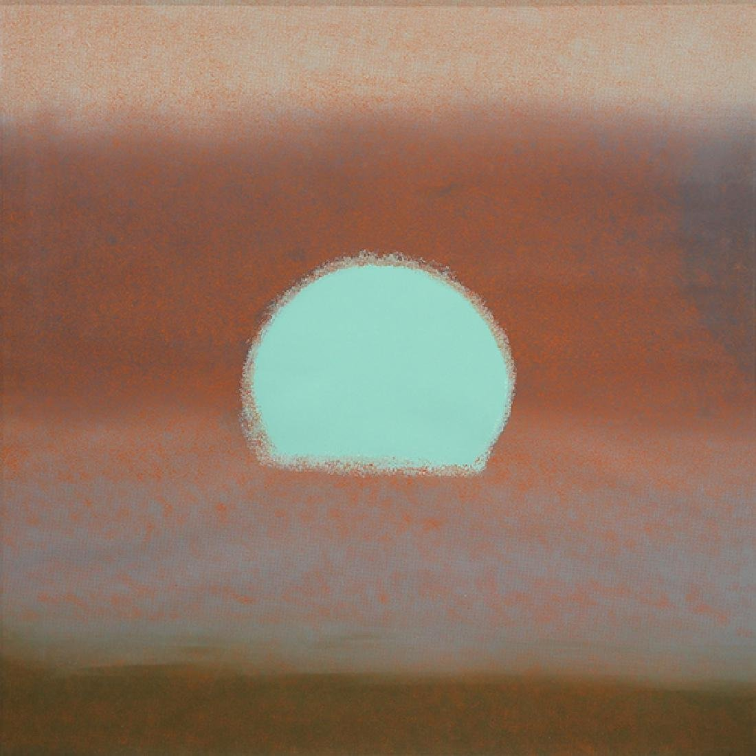 Print, Andy Warhol, Sunset