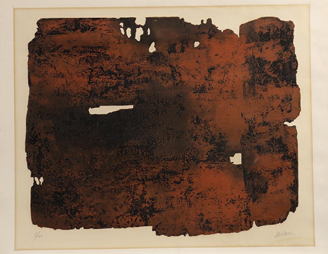 Print, Pierre Soulages