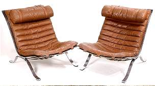"Pair of Arne Norell (1917-1971) ""Ari"" lounge chairs"