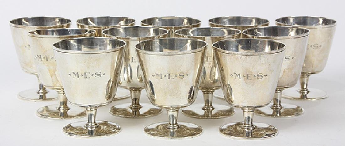 (Lot of 12) Tiffany Studios cocktail cordials, each - 2