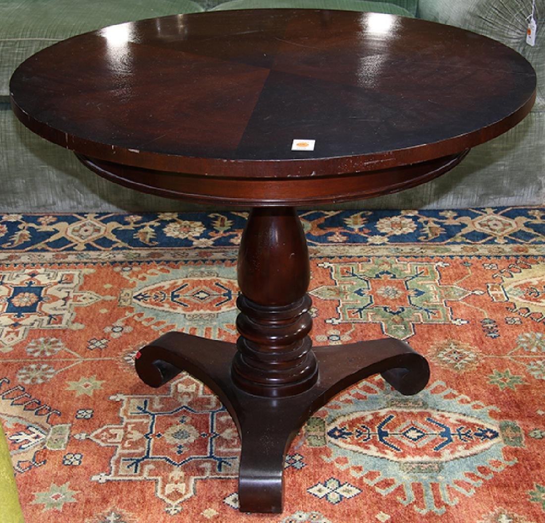 Baker Furniture 'Milling Road' center table, having a
