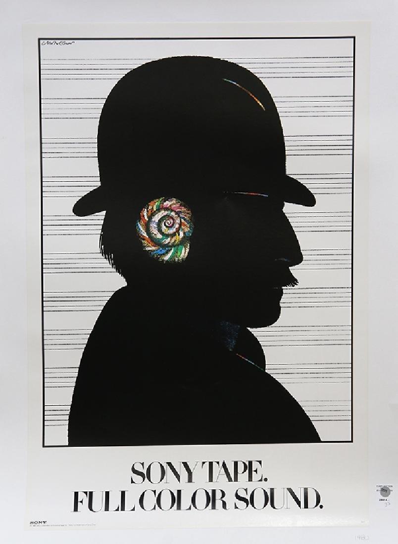Offset poster, Milton Glaser