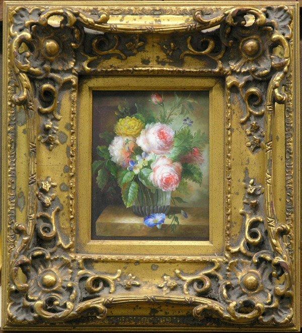 4003: Floral Still Life Painting