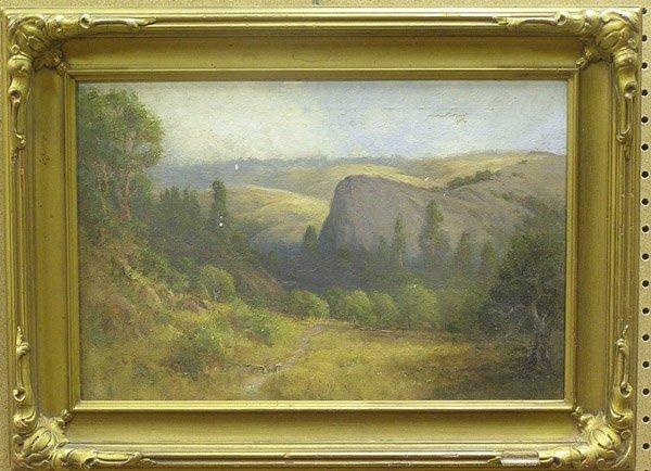 4006: Oil, M.J. Wickes, Landscape, River