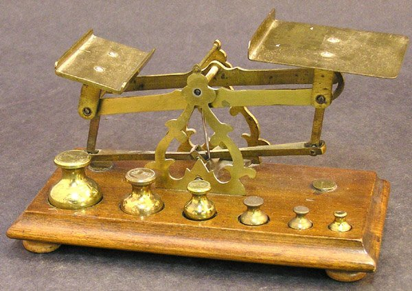 4014: Brass scale
