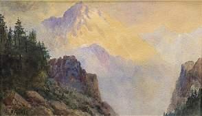 Watercolor Henry Lavender Adolphus Culmer