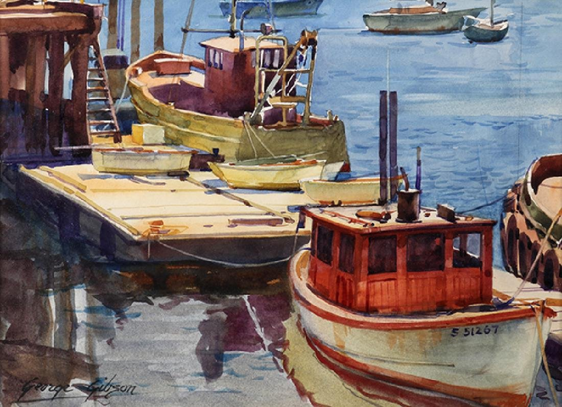Watercolor, George Gibson