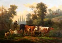 Paintings, Rural Landscapes with Cows