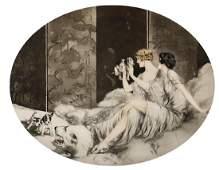 Print, Louis Icart