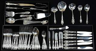 ( lot of 62 ) Towle Sterling flatware service,
