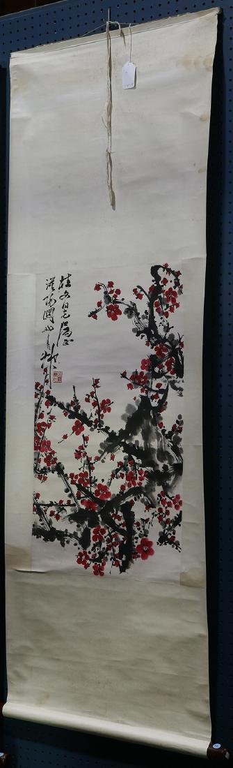 Chinese Scroll, Manner Guan Shanyue