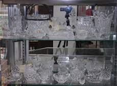 (lot of 31) Waterford crystal table article group
