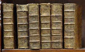 lot of 6Le Spectacle de la Nature 1768 6 volume