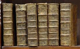 """(lot of 6)""""Le Spectacle de la Nature,"""" 1768, 6 volume"""