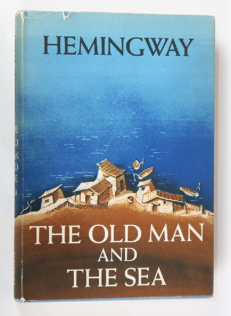 The Old Man and The Sea, 1st Edition Ernest Heminigway,