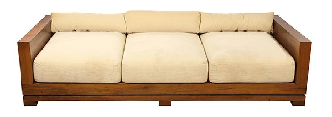 Pinakin Patel custom designed sofa, having a square