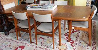 Mid-century modern style dining set