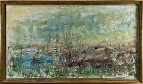 Painting, Abstract Landscape