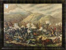 Print, Battle of Little Big Horn
