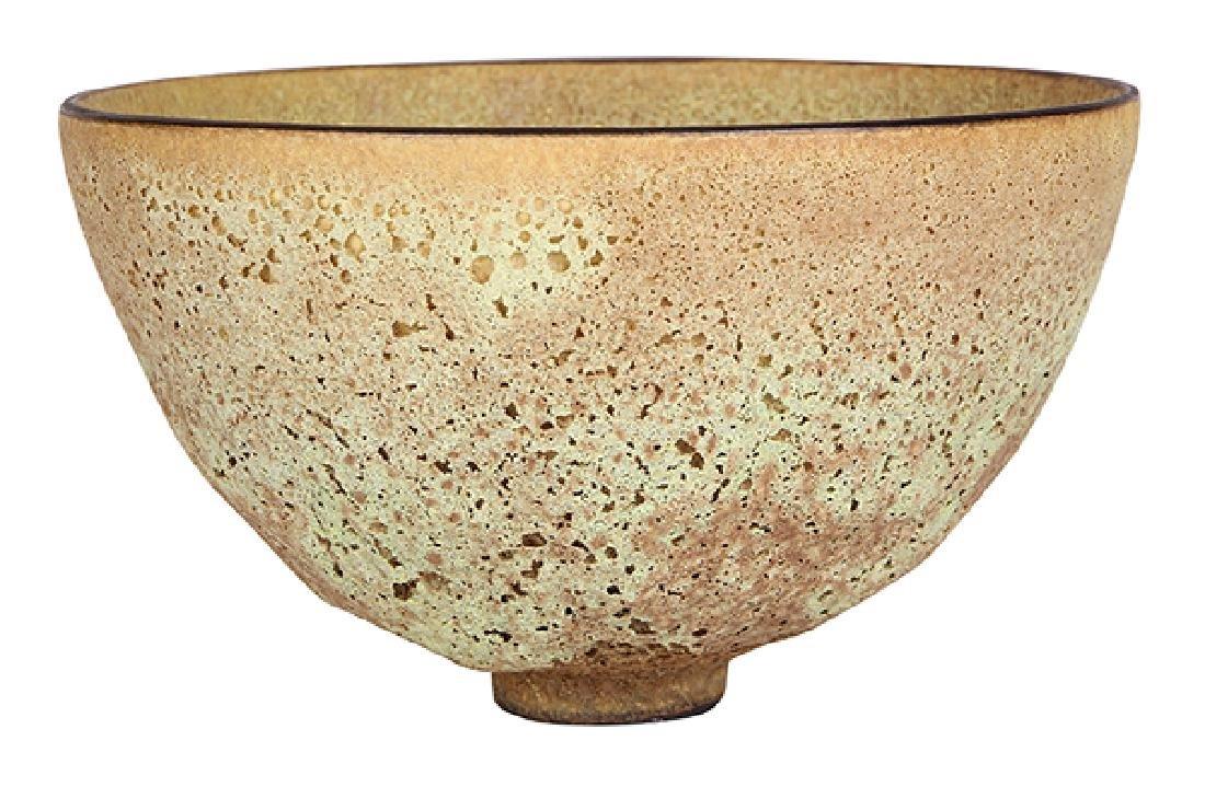 James Lovera (1920 - 2015 California) footed bowl,