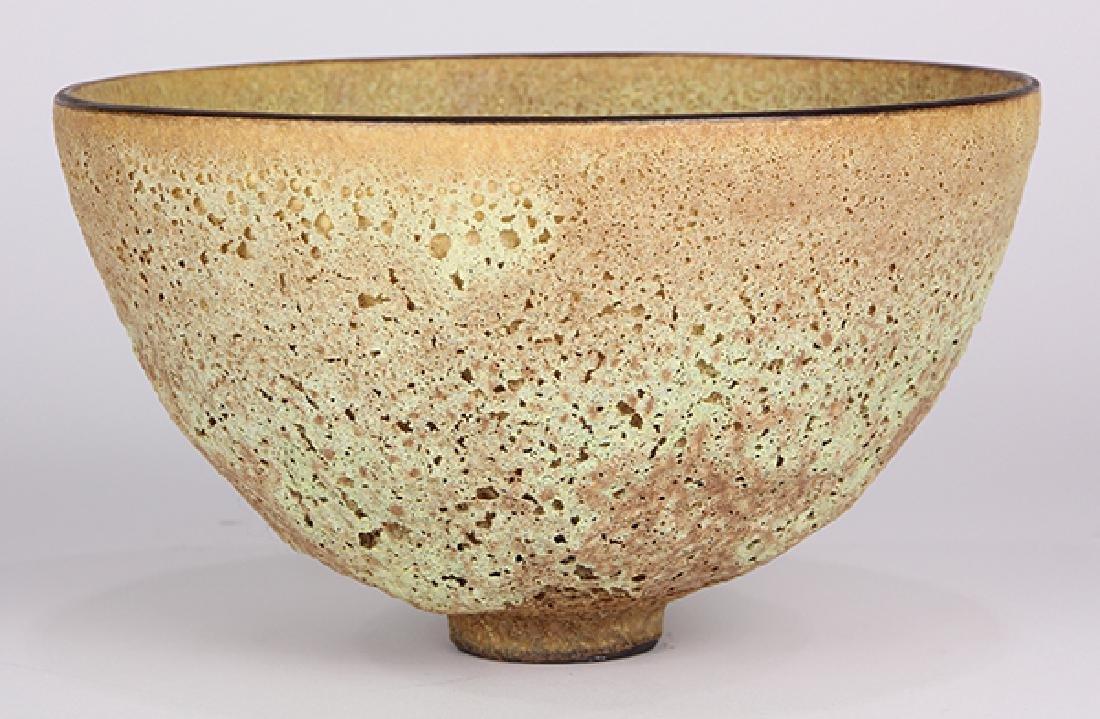James Lovera (1920 - 2015 California) footed bowl, - 2