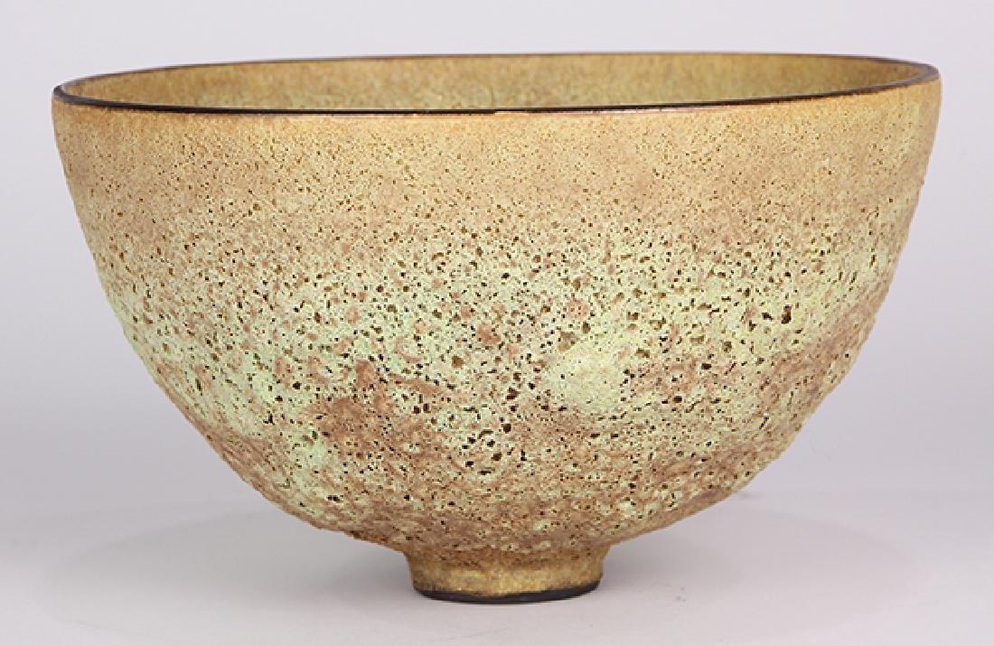 James Lovera (1920 - 2015 California) footed bowl, - 3