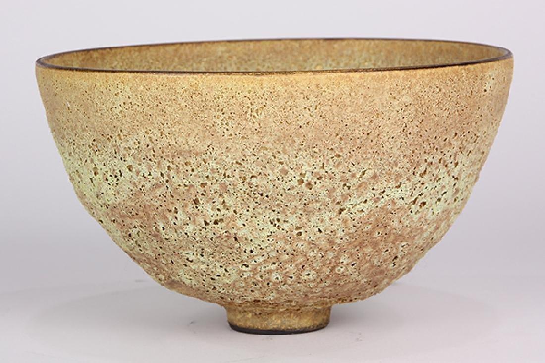 James Lovera (1920 - 2015 California) footed bowl, - 4