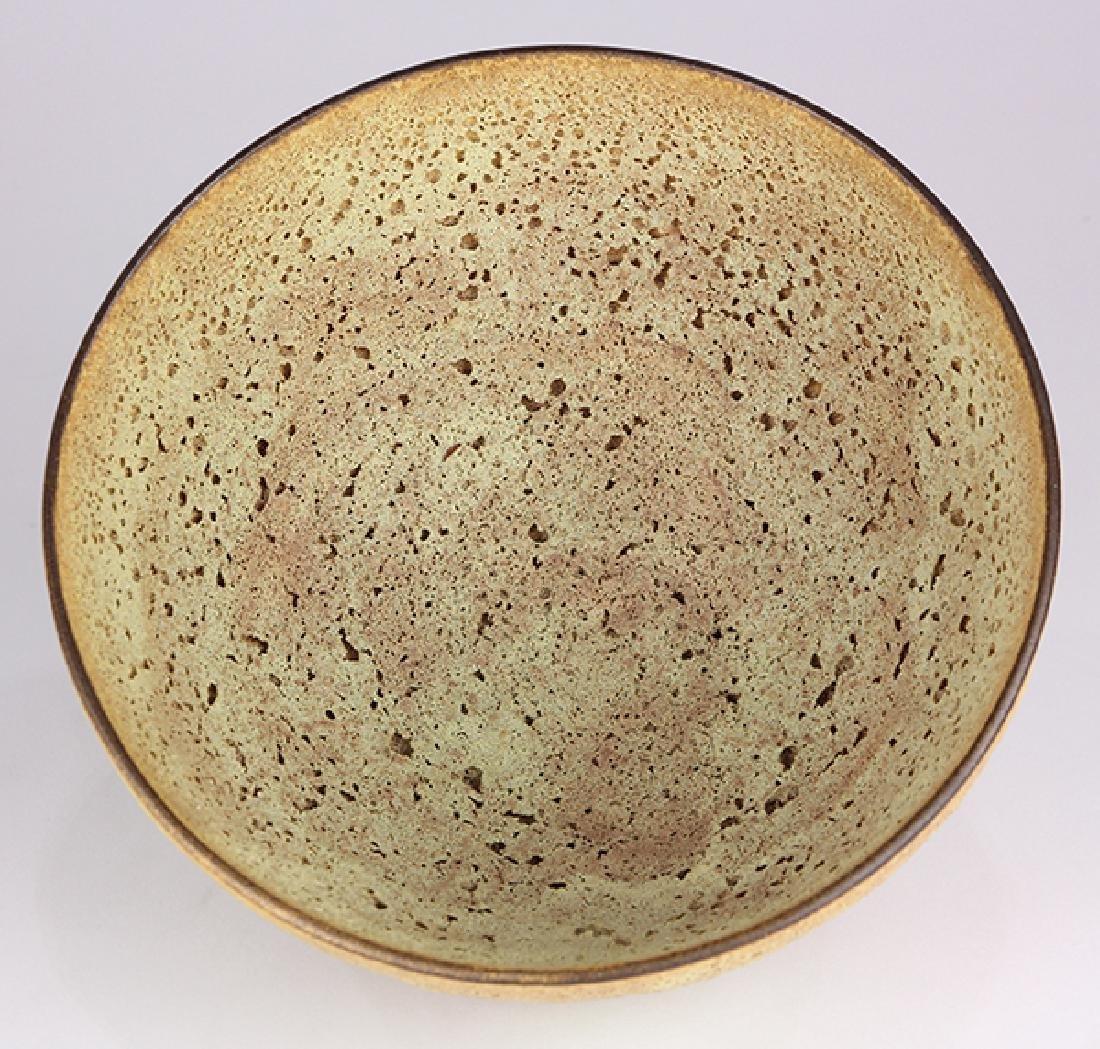 James Lovera (1920 - 2015 California) footed bowl, - 5
