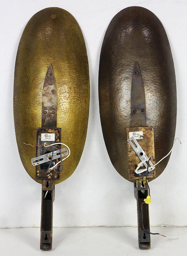 Pair of custom Hervé Van der Straeten 'Applique Coque' - 2