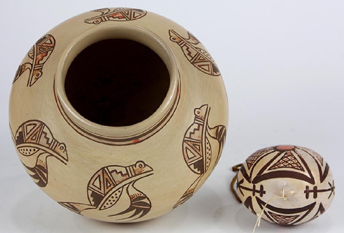 (lot of 2) Native American Hopi olla - 3