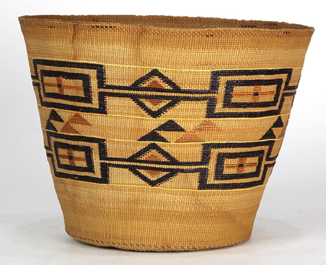 Tlingit polychrome basket - 3
