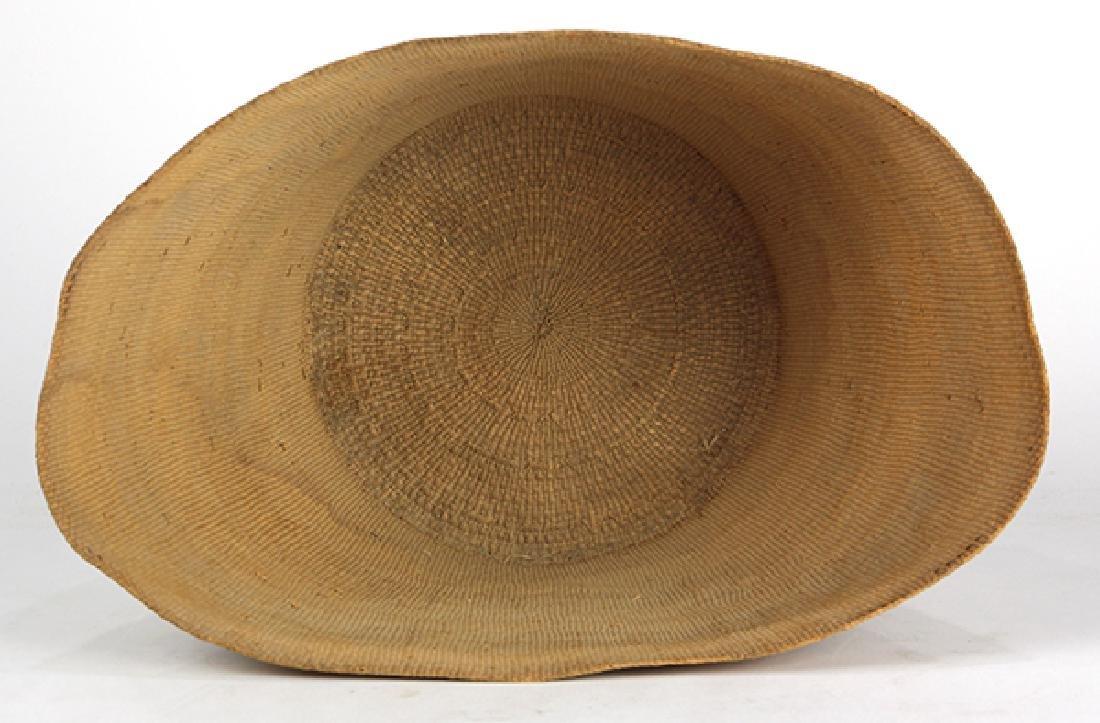 Tlingit polychrome basket - 5