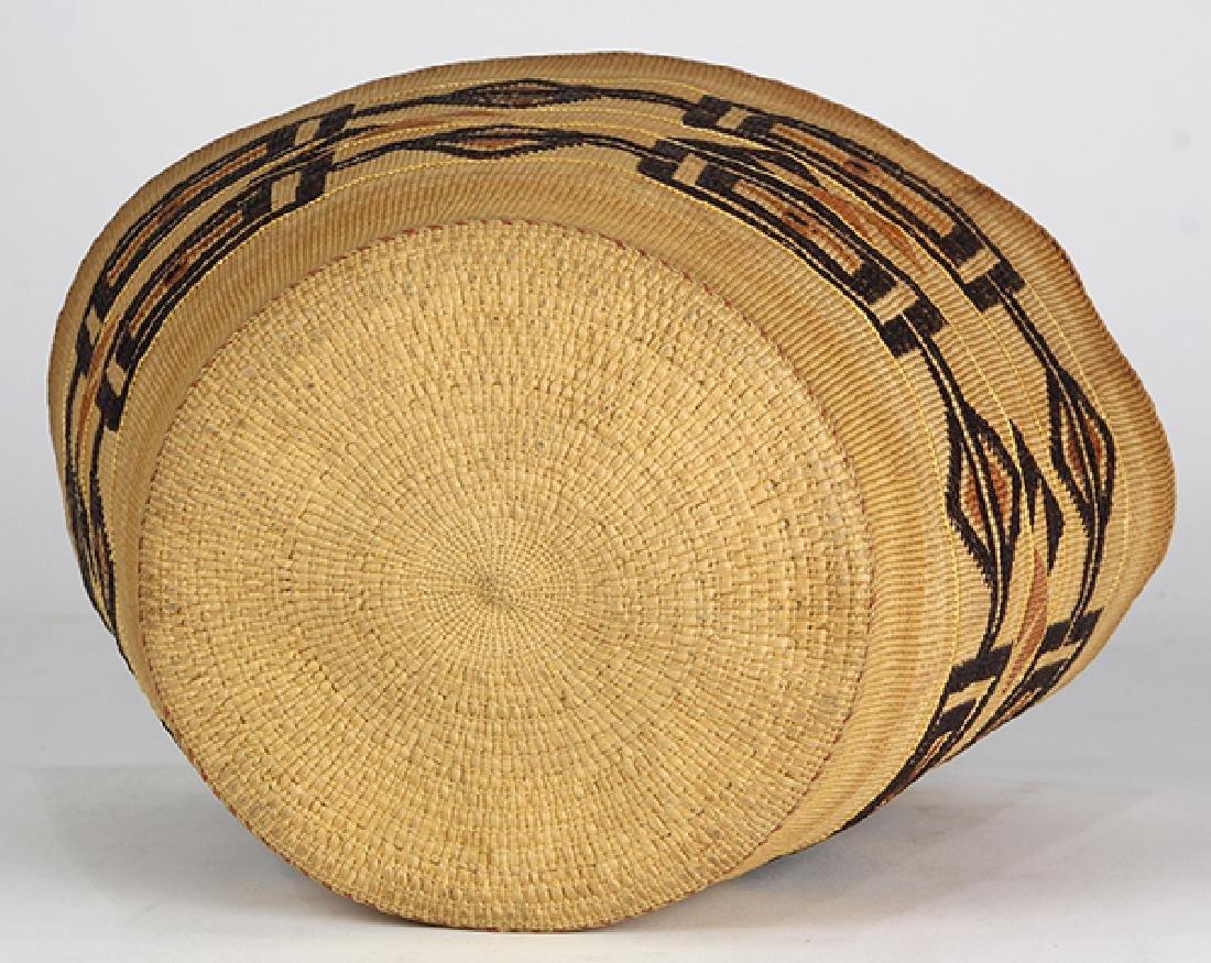 Tlingit polychrome basket - 6