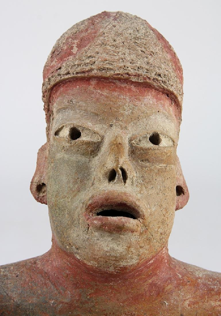 An authentic Pre-Columbian Olmec baby - 7