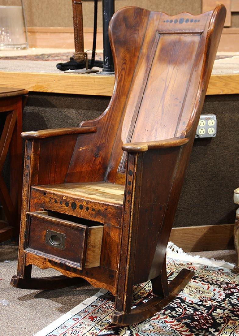 Early English lambing chair - 2