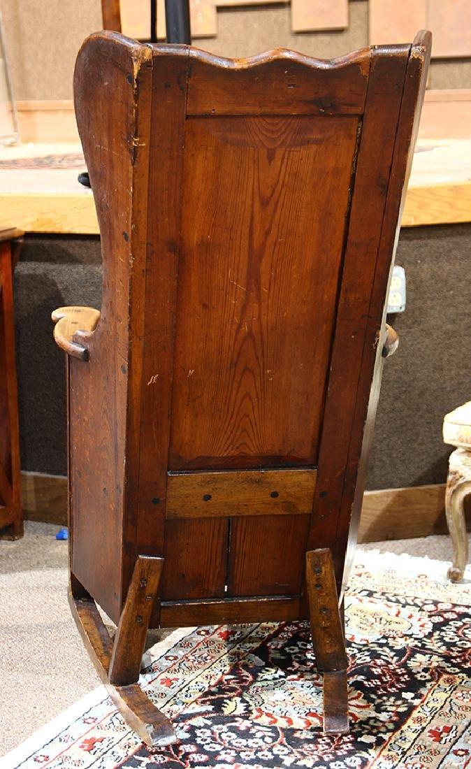 Early English lambing chair - 5
