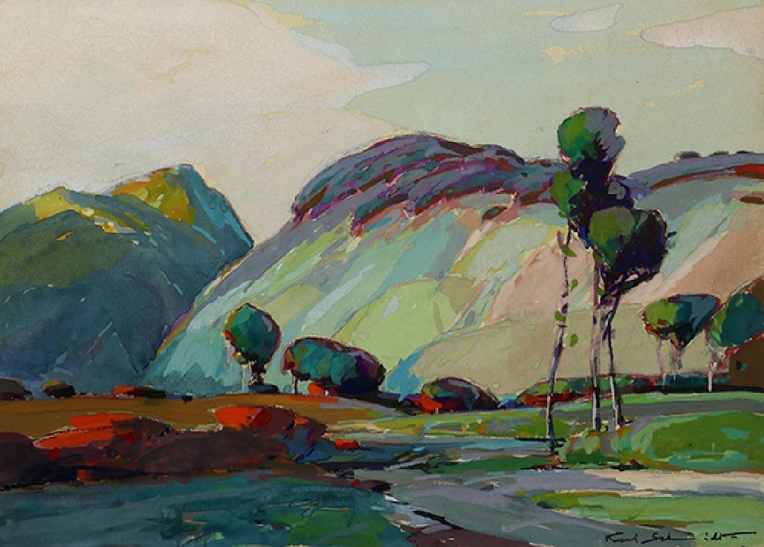 Works on paper, Karl Schmidt