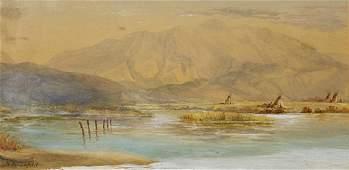 Watercolor, Joseph Henry Sharp